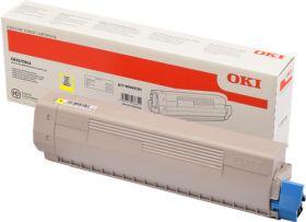 OKI ORIGINAL - OKI 46443101 Jaune (10000 pages) Toner de marque