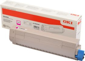 OKI ORIGINAL - OKI 46443102 Magenta (10000 pages) Toner de marque
