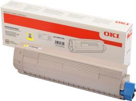 OKI ORIGINAL - OKI 46471101 Jaune (7000 pages) Toner de marque