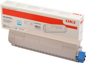 OKI ORIGINAL - OKI 46471103 Cyan (7000 pages) Toner de marque