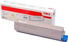 OKI ORIGINAL - OKI 46471113 Jaune (5000 pages) Toner de marque