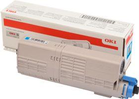 OKI ORIGINAL - OKI 46490607 Cyan (6000 pages) Toner de marque