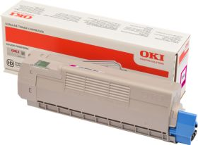 OKI ORIGINAL - OKI 46507506 Magenta (6000 pages) Toner de marque