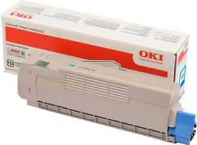 OKI ORIGINAL - OKI 46507507 Cyan (6000 pages) Toner de marque