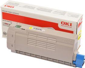 OKI ORIGINAL - OKI 46507613 Jaune (11500 pages) Toner de marque
