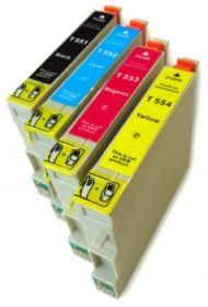 COMPATIBLE EPSON - T0556 ! Pack de 4 Cartouches génériques