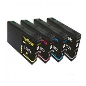 COMPATIBLE EPSON - T7021 / T7022 / T7023 / T7024 Lot de 4 cartouches génériques