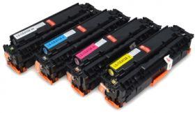COMPATIBLE HP - 305X / 305A (Noir, Cyan, Magenta, Jaune) Lot de 4 Toners remanufacturés