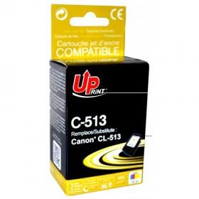 UPRINT - UPrint CL-513 couleurs (15 ml) Cartouche recyclée Canon Qualité premium