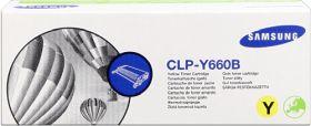 SAMSUNG ORIGINAL - Samsung CLP-Y660B Jaune (5000 pages) Toner de marque