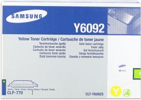 SAMSUNG ORIGINAL - Samsung Y6092S Jaune (7000 pages) Toner de marque