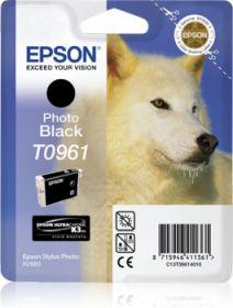 EPSON ORIGINAL - Epson T0961 Noir (11,4 ml) Cartouche de marque