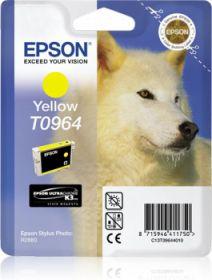 EPSON ORIGINAL - Epson T0964 Jaune (11,4 ml) Cartouche de marque