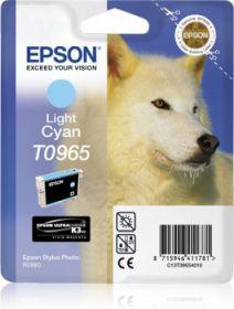 EPSON ORIGINAL - Epson T0965 Cyan Clair (11,4 ml) Cartouche de marque
