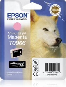 EPSON ORIGINAL - Epson T0966 Magenta Clair (11,4 ml) Cartouche de marque