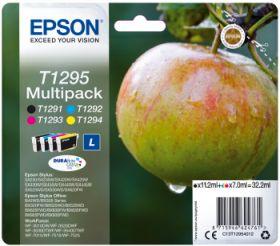 EPSON ORIGINAL - Epson T1295 Multipack de 4 cartouches (Noir, Cyan, Magenta, Jaune)