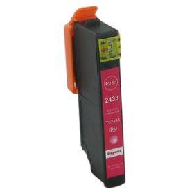 COMPATIBLE EPSON - 24XL magenta (12 ml) Cartouche générique T2433 avec puce