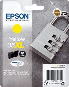 EPSON ORIGINAL - Epson 35XL Jaune (20,3 ml) Cartouche de marque T3594