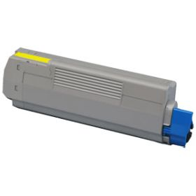 COMPATIBLE OKI - 44059105 Jaune (8000 pages) Toner remanufacturé OKI