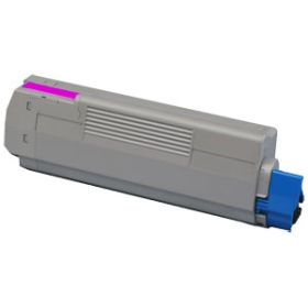 COMPATIBLE OKI - 44059106 Magenta (8000 pages) Toner remanufacturé OKI