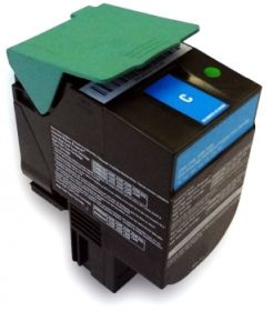 RECYCLE LEXMARK - C544X1CG Cyan (4000 pages) Toner remanufacturé Qualité Premium