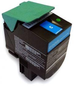 RECYCLE LEXMARK - C544X1CG Cyan (4000 pages) Toner remanufacturé Qualité Premium