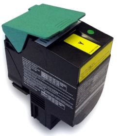 RECYCLE LEXMARK - C544X1YG Jaune (4000 pages) Toner remanufacturé Qualité Premium