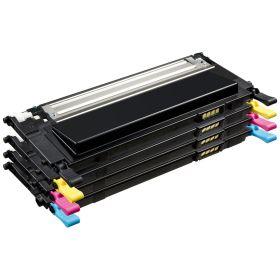 COMPATIBLE SAMSUNG - P4092C Pack de 4 Toners remanufacturés (Noir, Cyan, Magenta, Jaune)