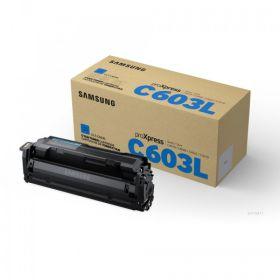 SAMSUNG ORIGINAL - Samsung C603L Cyan (10000 pages) Toner de marque