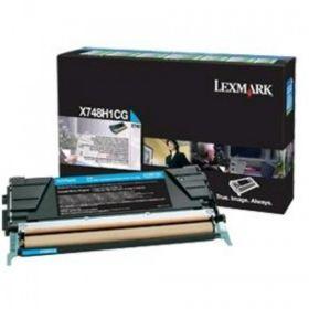 LEXMARK ORIGINAL - Lexmark X748H1CG Cyan (10000 pages) Toner de marque