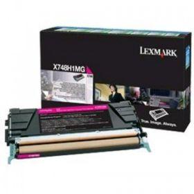 LEXMARK ORIGINAL - Lexmark X748H1MG Magenta (10000 pages) Toner de marque