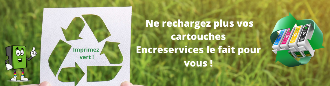 Recyclage cartouches